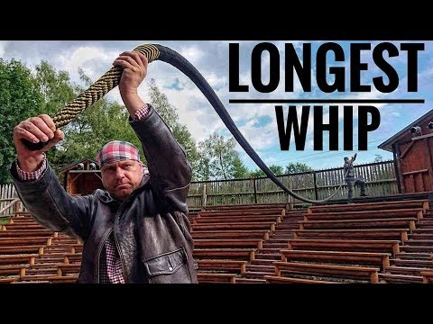 Xxx Mp4 The Longest Functional Whip In The World VS EXTREME Challenge World Record 3gp Sex