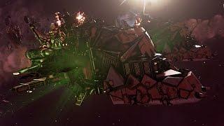 Battlefleet Gothic: Armada - ORK'S Gameplay - WAAAAAAAAAAAAAGGGGGHHH!