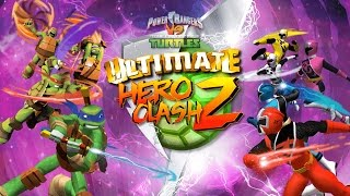 Teenage Mutant Ninja Turtles vs Power Rangers Ninja Steel Ultimate Hero Clash 2