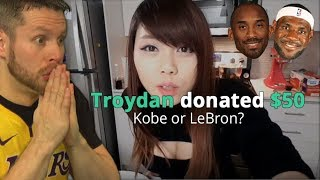 Kobe or LeBron? Donating to Twitch Streamers
