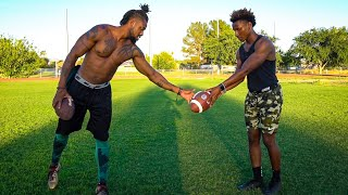 I GOT PRIVATE LESSONS FROM ONE OF THE GREATEST NFL PLAYERS EVER.. (HE TAUGHT ME SECRETS)