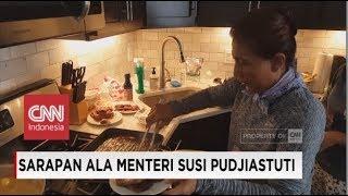 Spesial! Inilah Masakan Menteri Susi Pudjiastuti untuk Rombongan Kerja di Amerika