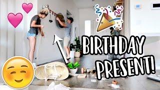 MAKING ASPYN'S BIRTHDAY PRESENT!