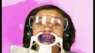 SURPRISE! YOU'RE GETTING BRACES! not ready for this!