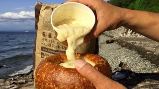 Panera Bread New England Clam Chowder Bread Bowl Review