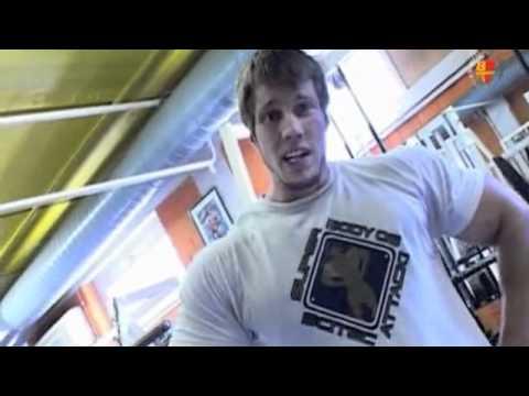 Bodybuilder Peter Molnar House Tour & Leg Workout 2008