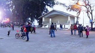 Darjeeling Mall or Chowrasta is Heart of the Hill Station Darjeeling, West Bengal, India