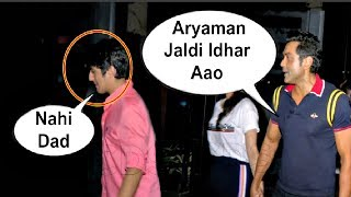Bobby Deol Fight With His Son Aryaman In Front Of Media