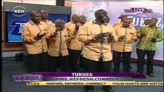 Tukuza Live: Men's Choral choir entertain  in Tukuza Live Studio
