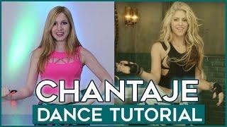 CHANTAJE - Shakira ft Maluma | Dance Tutorial | A bailar con Maga