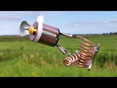 free energy generator outside filmed in one take