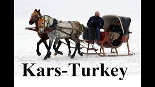 Turkey/Kars (- 30 °C  Amazing) - Horse sleigh/Atlı kızaklar) Part 9