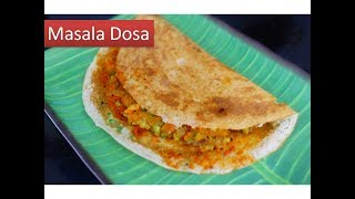 MASALA DOSA recipe SOUTH INDIAN Style | Deeps kitchen |