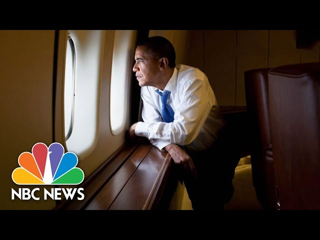 President Obama Makes Final Trip On Air Force 1 | NBC News