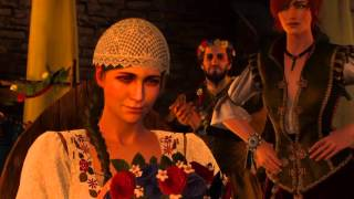 Witcher 3 Hearts of Stone - Dead Man's Party - Wedding Capping Ceremony CINEMATIC