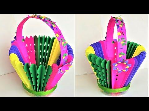 Xxx Mp4 DIY Paper Basket Using Plastic Bottle Paper Craft Plastic Bottle Craft Hand Made Craft 3gp Sex