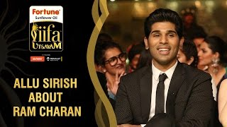 Ram Charan has Broken the Myths about South Indian Stars Says Allu Sirish | IIFA Utsavam Awards 2016