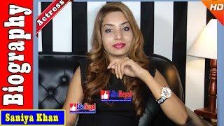 Saniya Khan - Nepali Model/Actress Biography Video, Songs