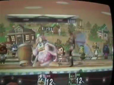 SSBB #5 Local-Match: Kirby-Kun VS BamBino