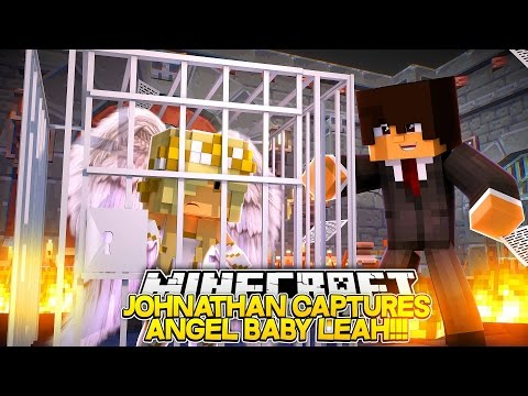 EVIL JOHNATHAN CAPTURED ANGEL BABY LEAH Baby Leah Minecraft Roleplay