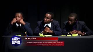 Nova Pioneer Boys Debut at Great Debaters Contest 2017