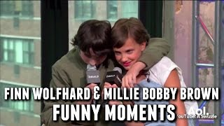 Finn Wolfhard and Millie Bobby Brown Funny/Cute Moments
