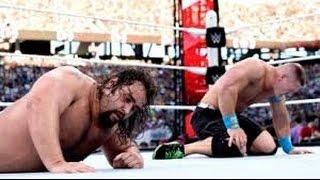 Rusev vs John Cena WrestleMania 31 Highlights