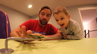 Dad & Son Fingerboarding!