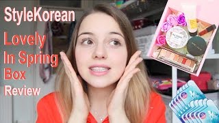 ❀ K-Beauty Review ❀ StyleKorean: Love in Spring Box!