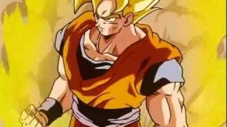 Goku's Power-Up against The Androids