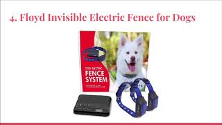 Top 10 Best Wireless Electric Dog Fence Systems in 2019 Reviews