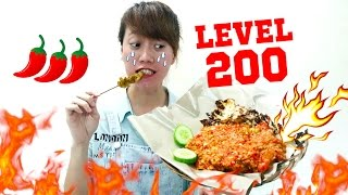 EXTREME HOT - AYAM GEPUK LEVEL 200