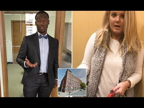 Xxx Mp4 Black Man DEFENDS White Woman Who BLOCKED Him From Entering Into His Luxury Loft 3gp Sex