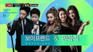 《MINARI & Boyfriend》KPOP STAR 6 Collaboration Stage K팝스타 6 더 라스트 찬스 20회