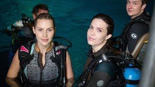 '47 meters down' filming underwater interview