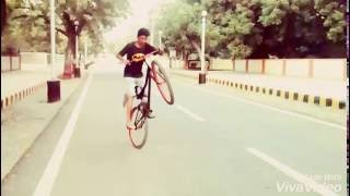 Bicycle Stunts Hard by Manjot Jatt (Gujarat)