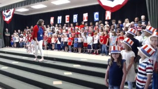 DBES Patriotic Performance 2/20/18