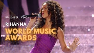 2006 11 15 Rihanna World music awards