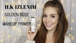 Ilk Izlenim / Golden Rose-Luminous Makeup Primer Ⅰ Aslı Özdel