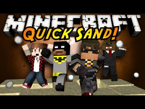 Minecraft Mini Game QUICK SAND