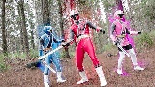 Power Ranger Ninja Steel   Primera Transformacion de los rangers