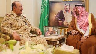 سمو أمير منطقة نجران يستقبل سمو قائد لواء الأمير تركي بن عبدالعزيز الأول الآلي بالحرس الوطني