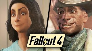 """Fallout 4 Mods: """"Immersive"""" Facial Animations MOD Gameplay! Fallout 4 Funny Moments"""