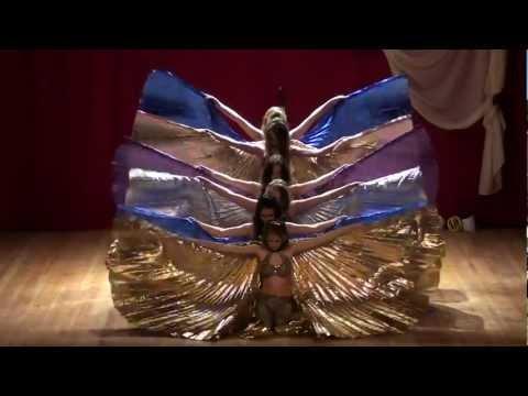 Mizmar & Arabia Isis Wings bellydance