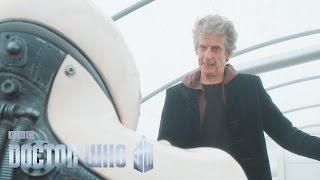The Doctor and Bill are on the run - Smile - Doctor Who: Series 10 Episode 2 - BBC One