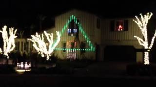 Christmas house at Laguna Hills