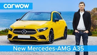 New Mercedes-AMG A35 - better than a VW Golf R and Audi S3?