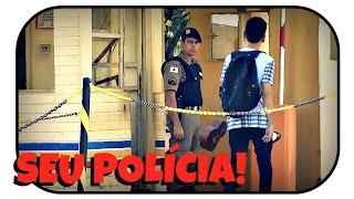 CANTANDO EM PÚBLICO PRA POLÍCIA