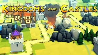 Kingdoms and Castles - Ep. 3 -Defensive Towers! - Kingdoms and Castles Gameplay