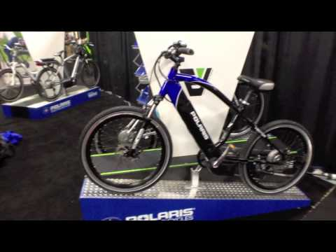 2014 Polaris Electric Bikes at Interbike